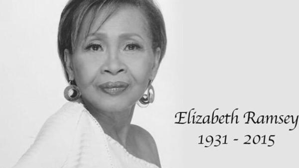Elizabeth Ramsey dies in her sleep at 83