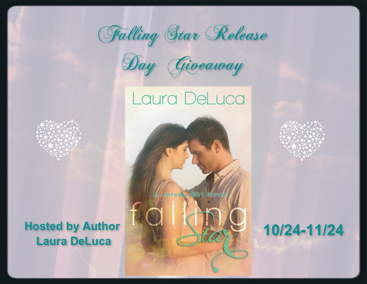 Falling Star by Laura DeLuca – Release Day Giveaway