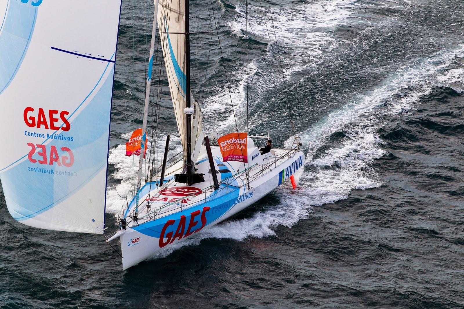 GAES, ici sur la Barcelona World Race 2010-11, bientot dans les mains d'Alessandro di Benedetto.