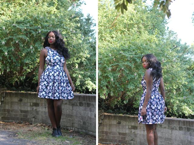 superdry floral dress