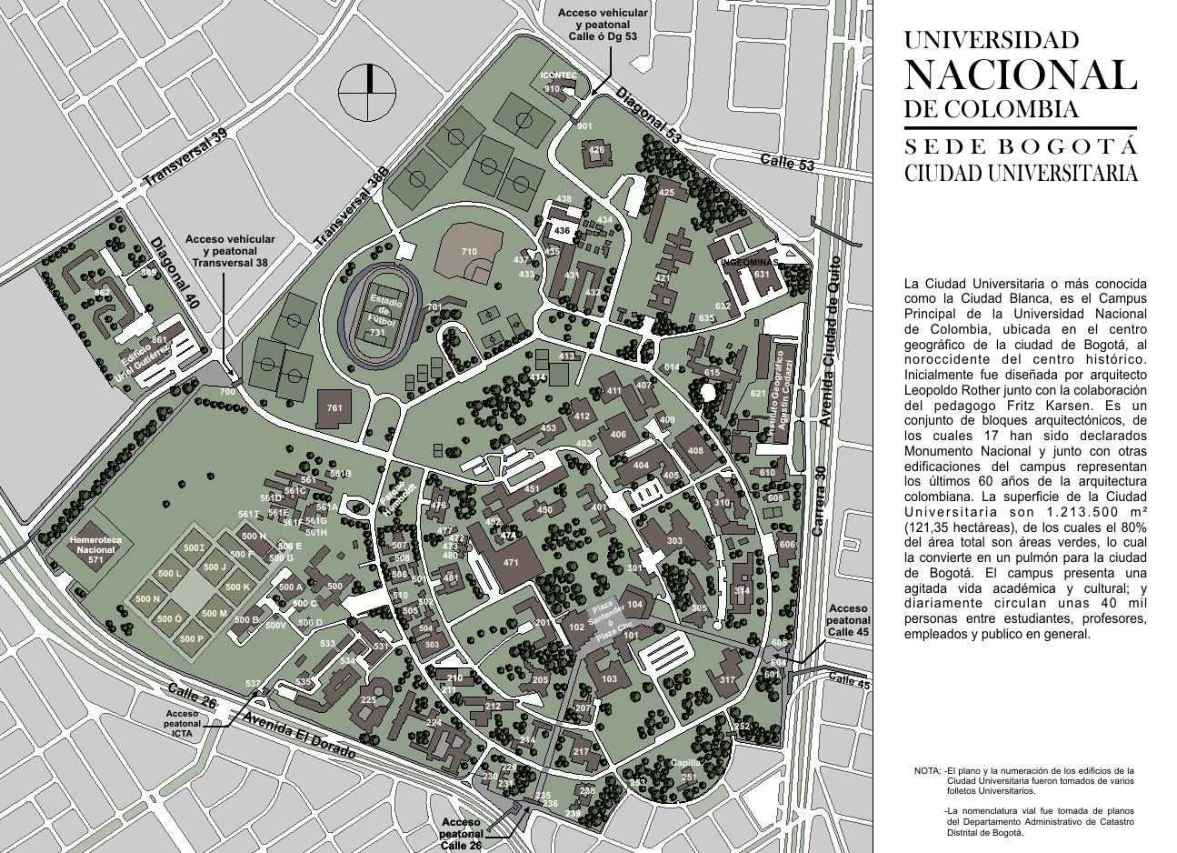 ... de la universidad, con el proyecto Plan de Renovación Urbana del CAN