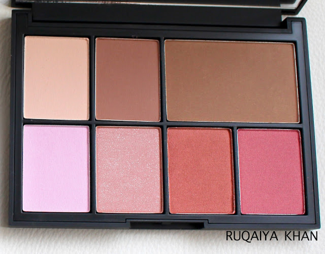 Paloma, Laguna, Goulue Swatches NArs
