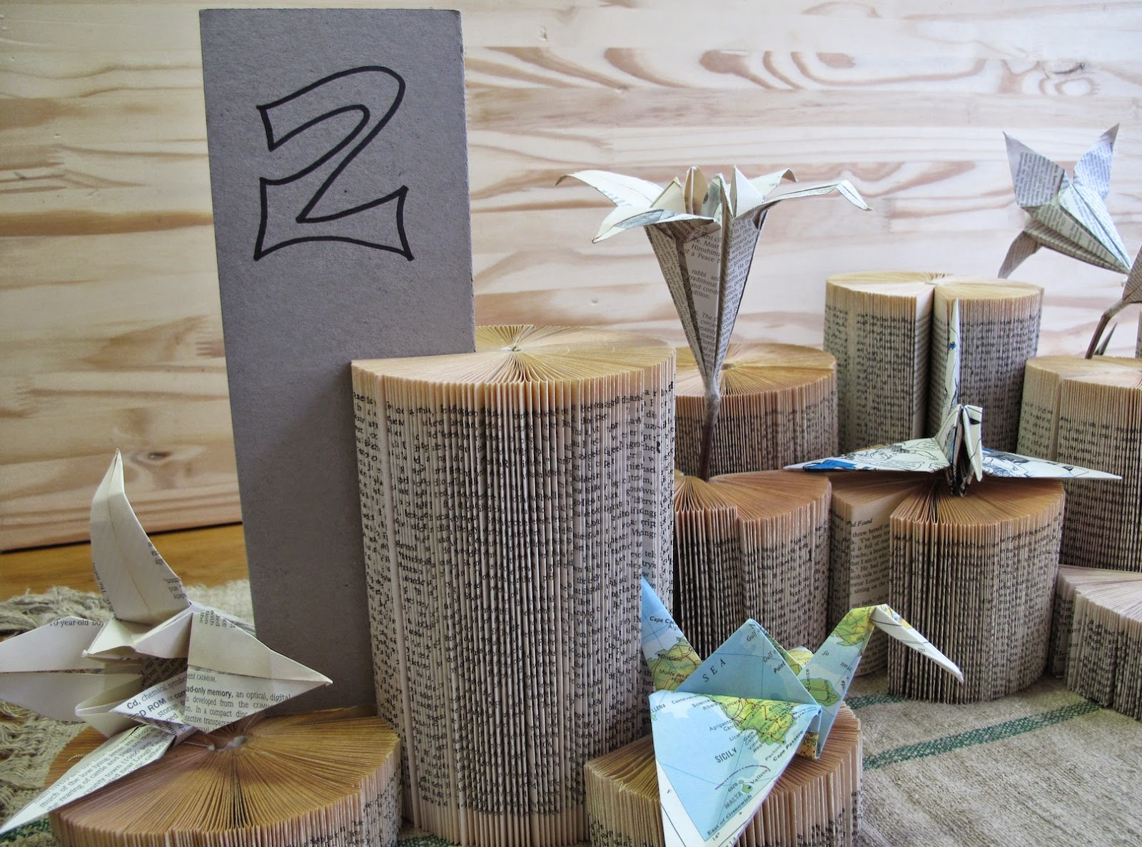 Wedding Origami For Table Decor Simple Intrigue
