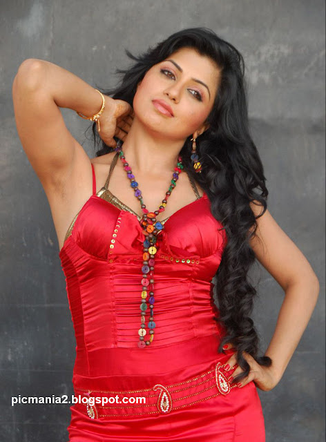 Aarthi Puri hot and sexy cleavage bikini image gallery