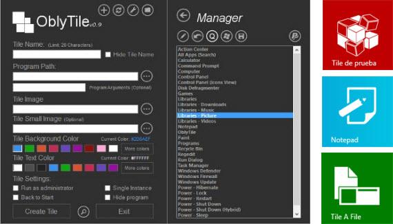 Personaliza los mosaicos de la interfaz Metro