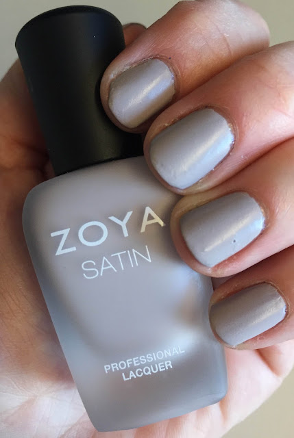 Zoya, Zoya Leah, Zoya Naturel Satins nail polish collection Winter 2014, nails, nail polish, nail lacquer, nail varnish, manicure, Mani Monday, #ManiMonday, nail polish swatches