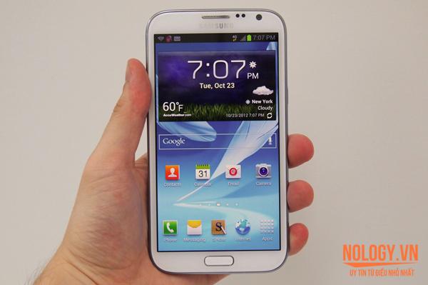 So sánh LG VU3 và Samsung Galaxy Note 2.