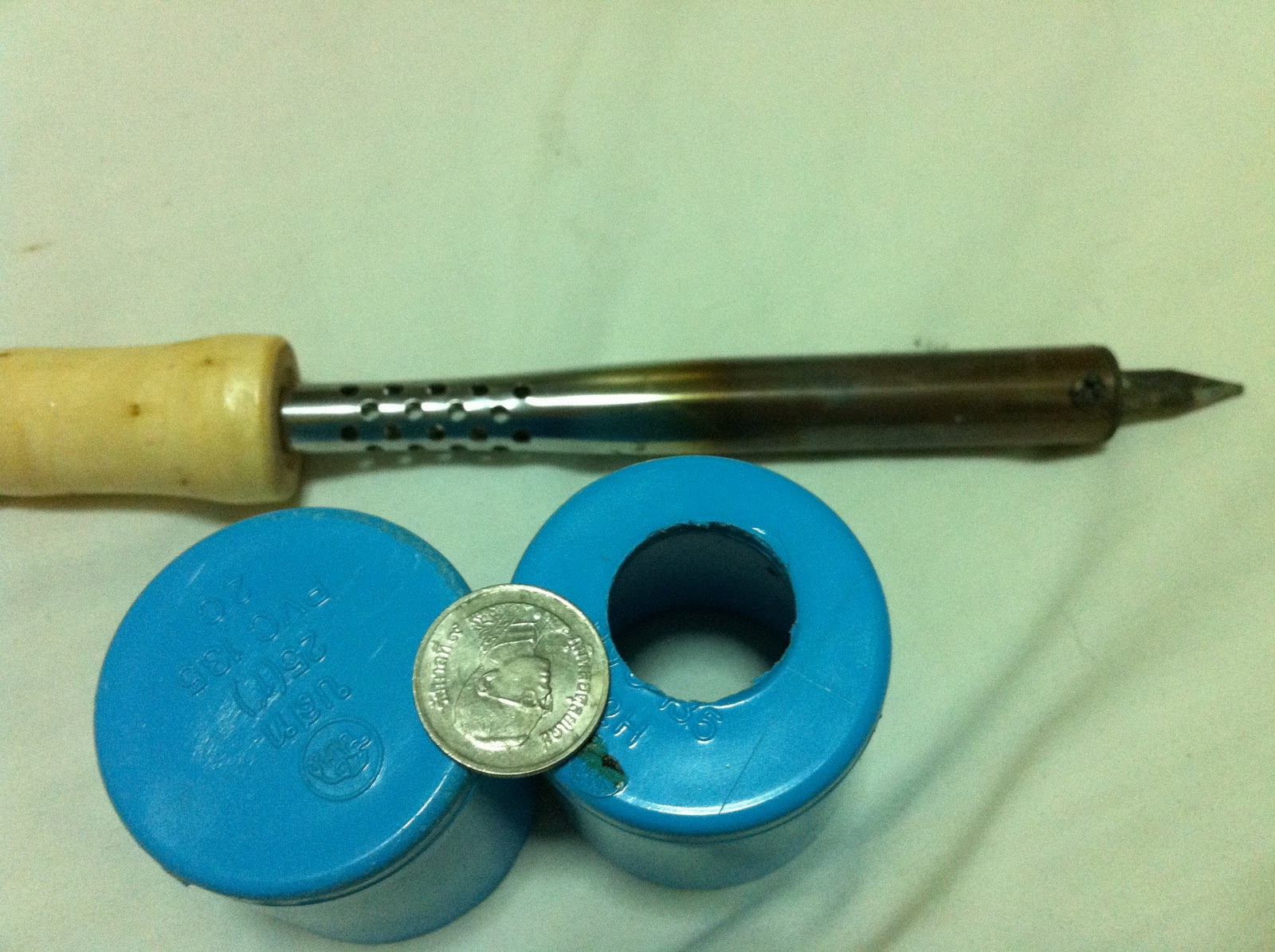 fishing: homemade fishing light attractor and gaff(pt i), Reel Combo
