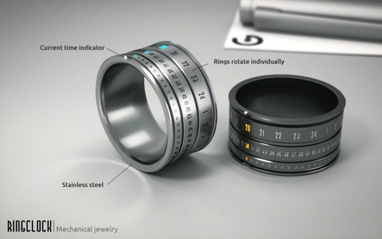 ring click mechanical jewellery