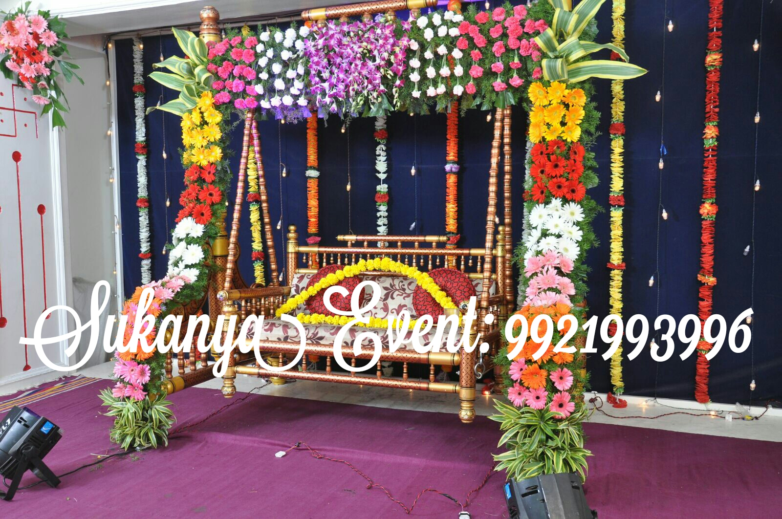 Dohale jevan best decoration from sukanya event dohale Home decoration tips in marathi