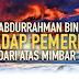 Celaan Abdurrahman Bin Mar'ie Terhadap Pemerintah Dari Atas Mimbar