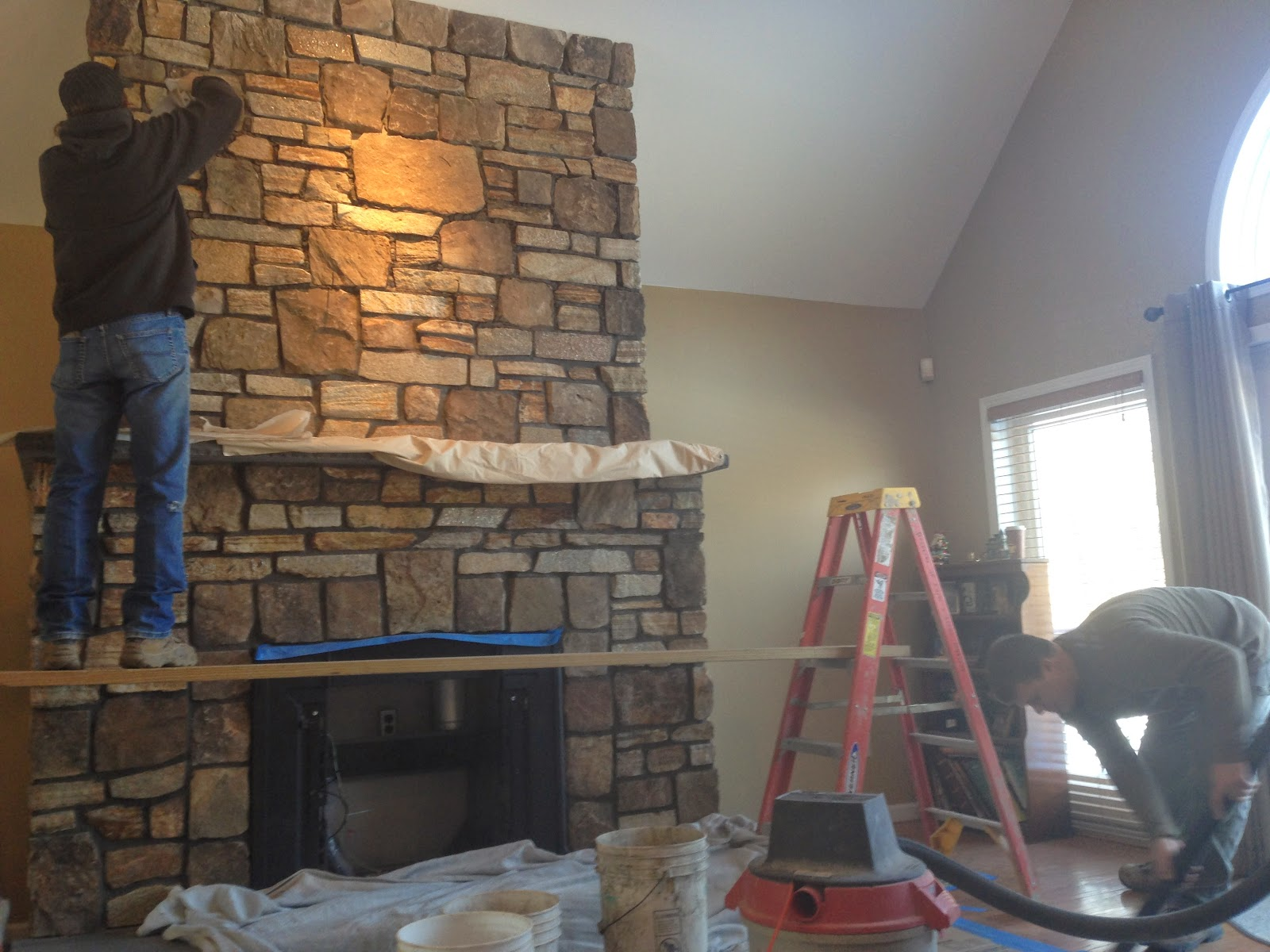 custom stone fireplaces. Custom Stone Fireplace built in Goshen NY  Earth and