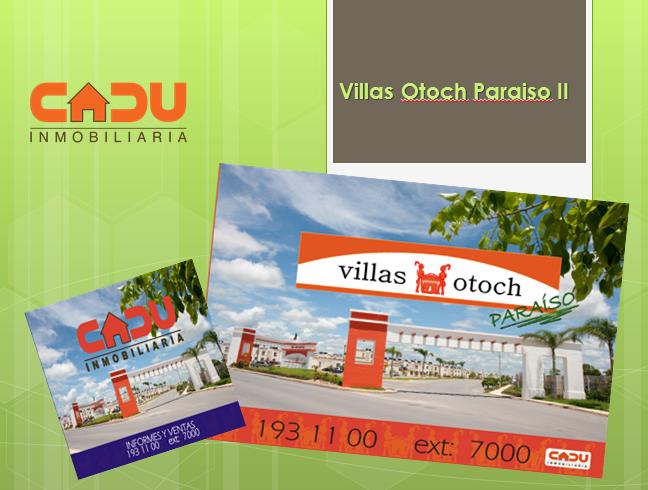 Villas otoch paraiso quienes son cadu inmobiliaria for Villas otoch paraiso