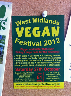 West Midlands Vegan Festival 2012