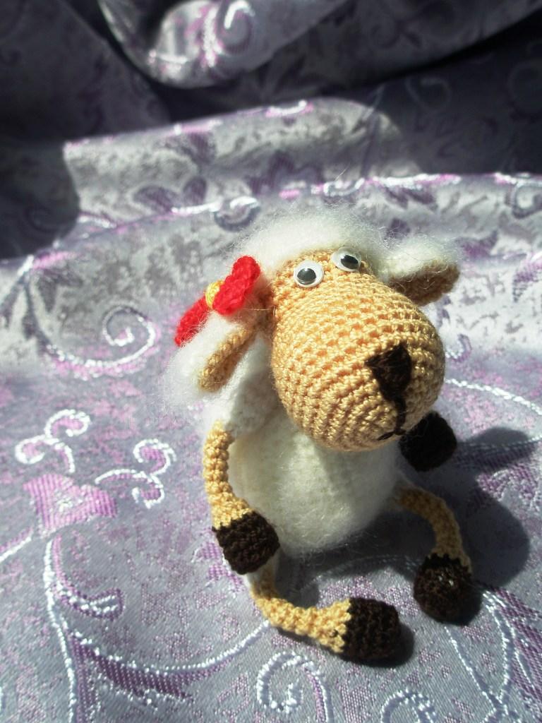 Мастер класс по вязания овечки крючком 55