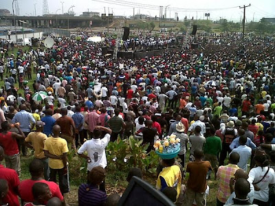 Photos From Today's #OccupyNigeria Protests In Lagos 7