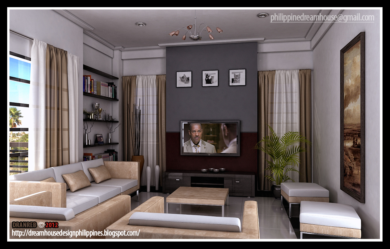 Small Living Room Design Philippines 1358 x 868