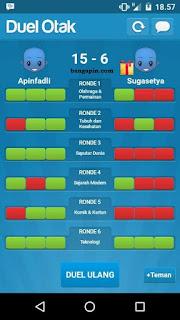 Kunci Jawaban game Duel Otak (Cheat Duel Otak)