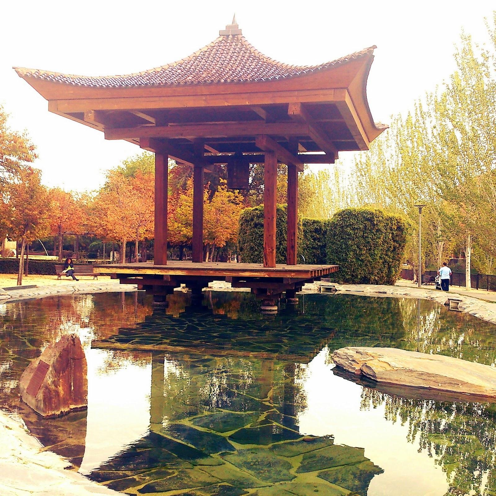 Parque arroyo de la vega alcobendas mientras so aba for Jardin de la vega alcobendas