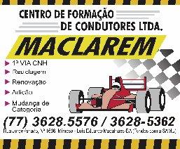 CENTRO DE FORMAÇÃO MACLAREM / BARREIRAS