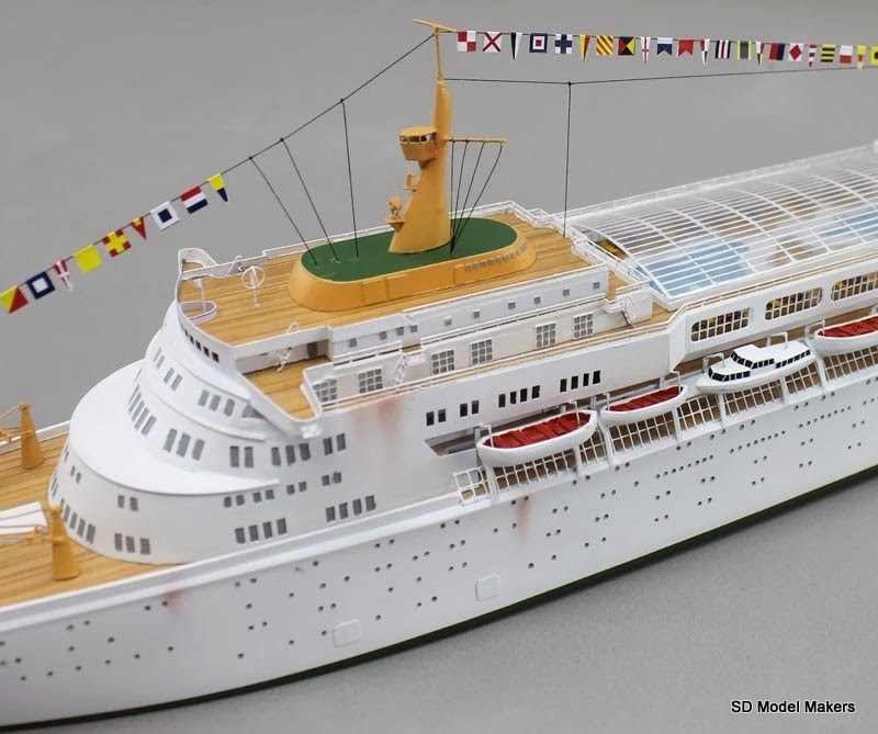 sdmodelmakers blogspot com ss oceanic waterline model