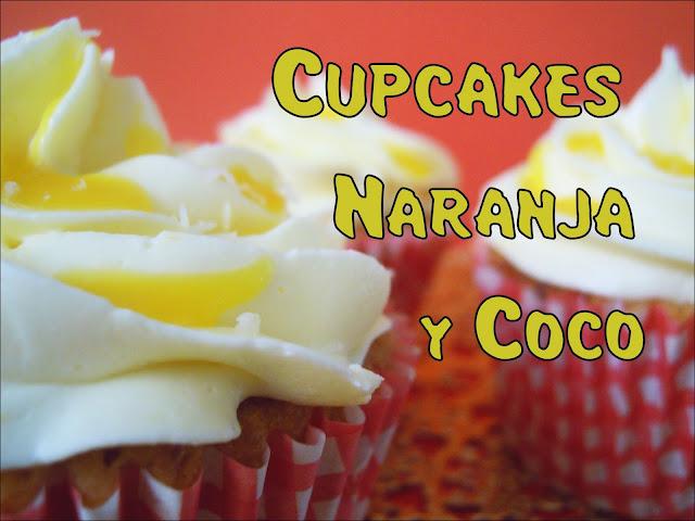 Receta de Cupcakes de Naranja y Coco