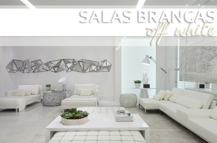 Decoracao De Sala Off White ~ decoracao de sala toda brancaSalas brancas e off whites – veja