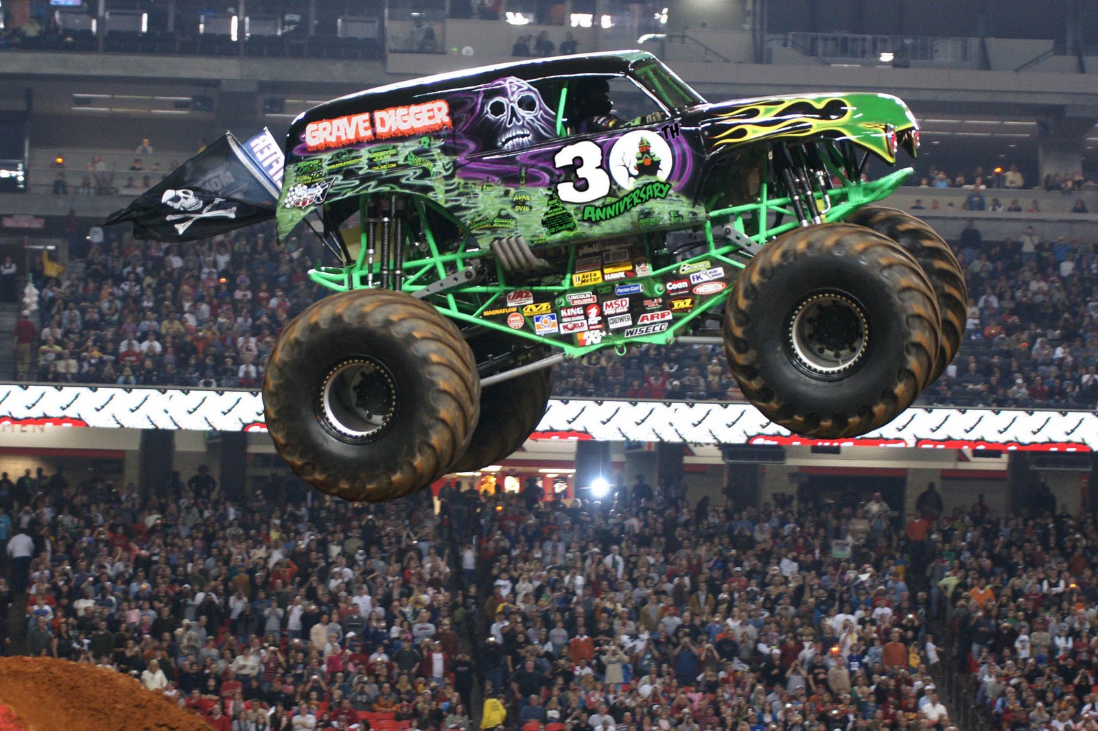 JustaCarGal  Monster Jam 2012