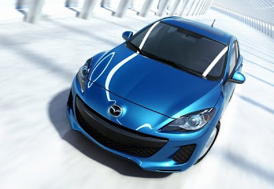 2012-Mazda-3-Front-Top-View-Blue-Color