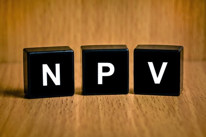 how to calculate irr manually with npv