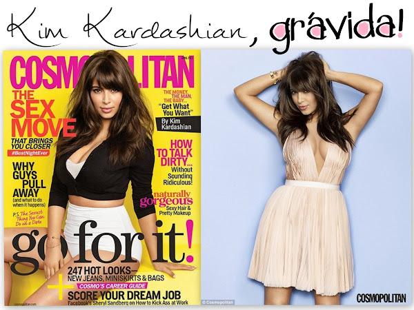 A gravidez de Kim Kardashian e a sua casa com Kanye West