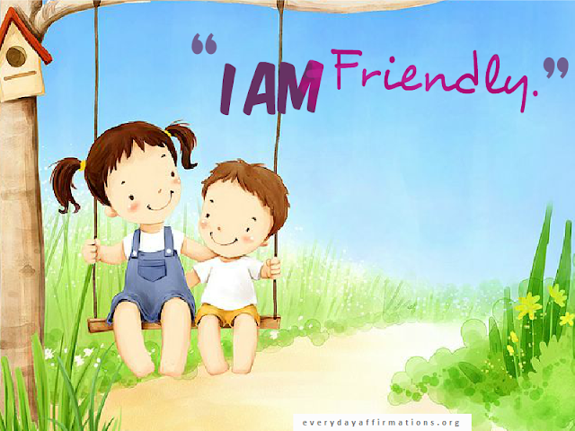 Affirmations for kids printable