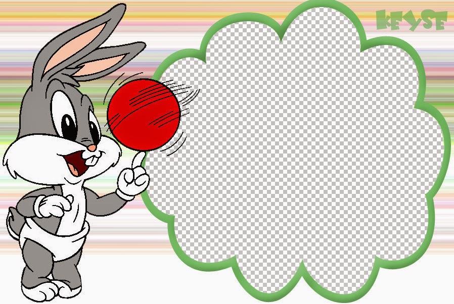 Bebés Looney Tunes: Tarjetas o Invitaciones para Imprimir ...
