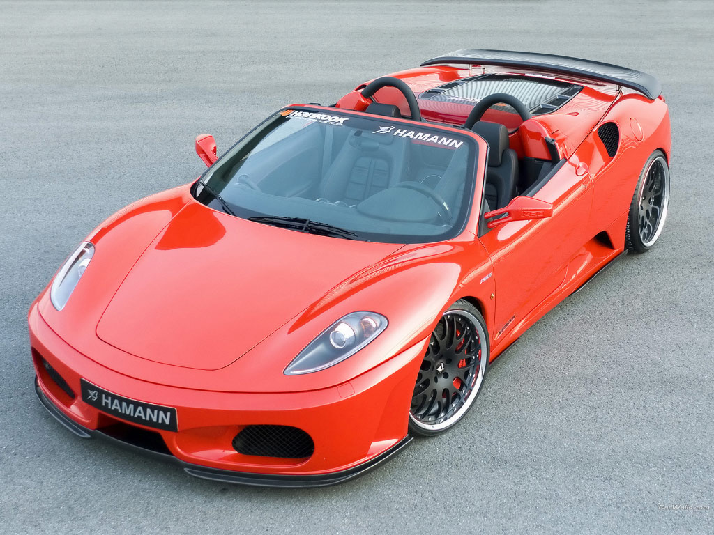 Hot Cars The Amazing Ferrari F430 Red