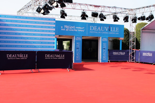 Deauville film festival red carpet