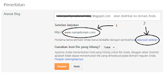 Cara Setting Dns Domain Blogspot
