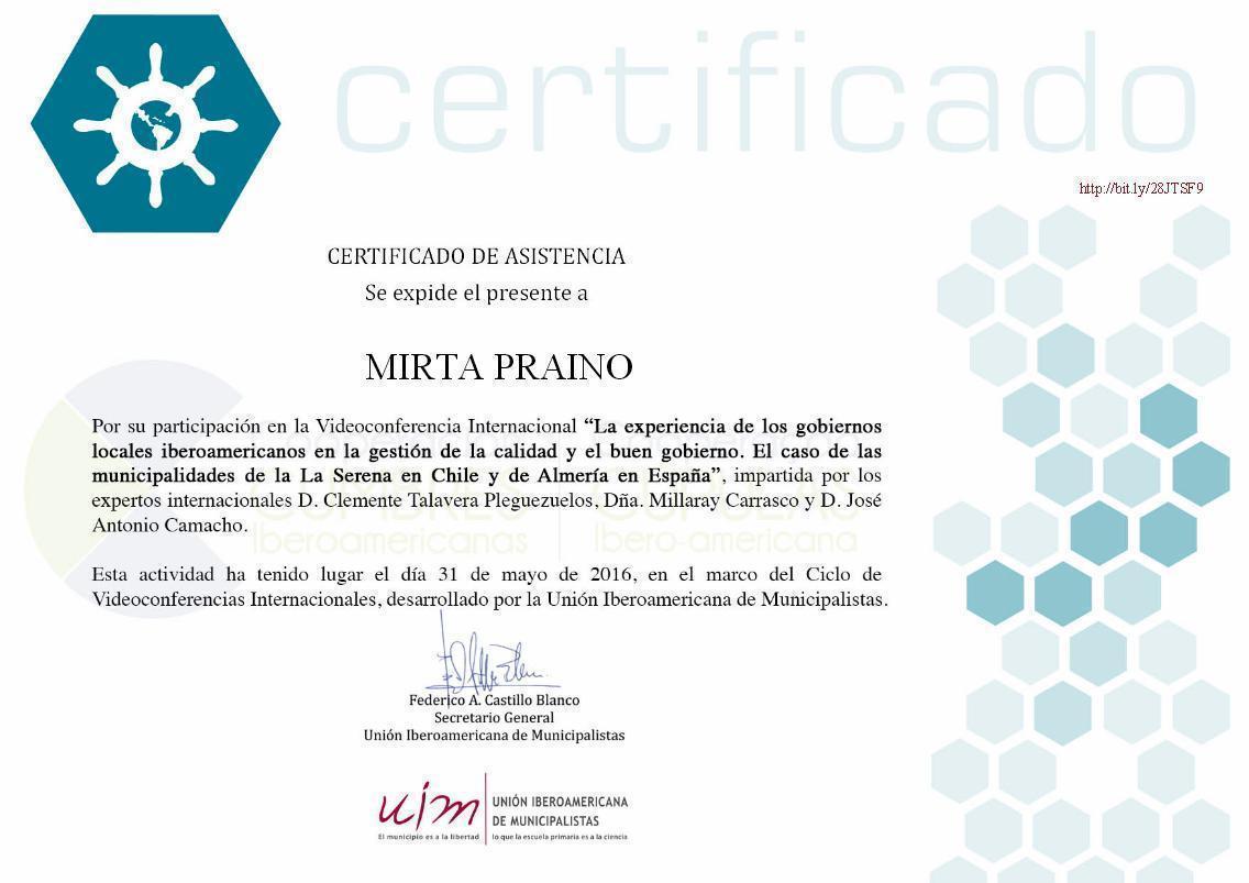 Experiencia de los gobiernos locales iberoamericanos en la gestión de la calidad y el buen gobierno