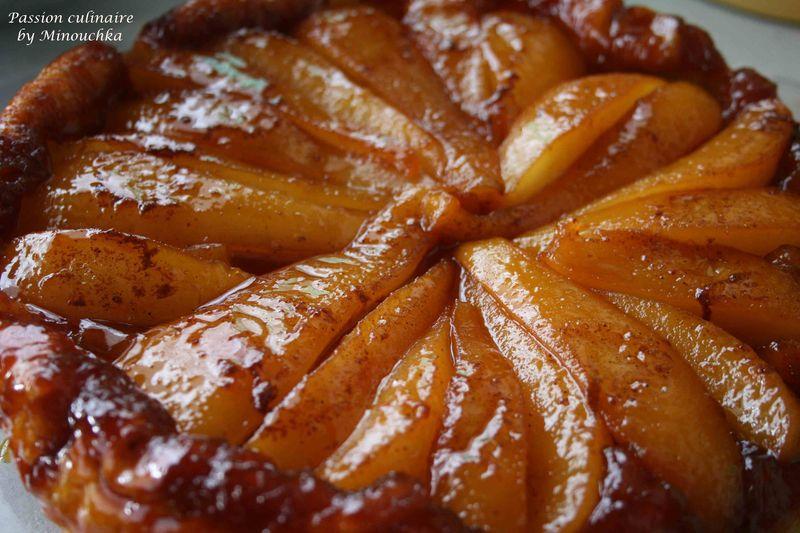 Tarte aux poires: Recette de la tarte tatin aux poires