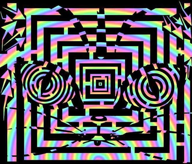 trippy cat maze