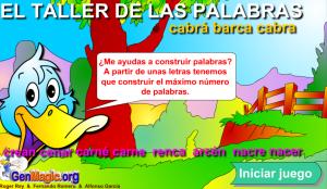 EL TALLER DE LAS PALABRAS