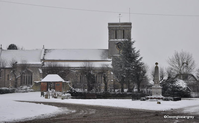 Snow covered Church