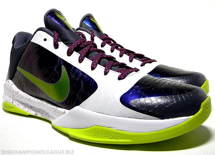 kobe 5 chaos. New In Stock: Nike Zoom Kobe 5