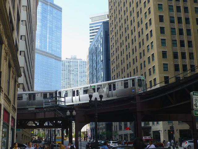 Tren elevado de Chicago