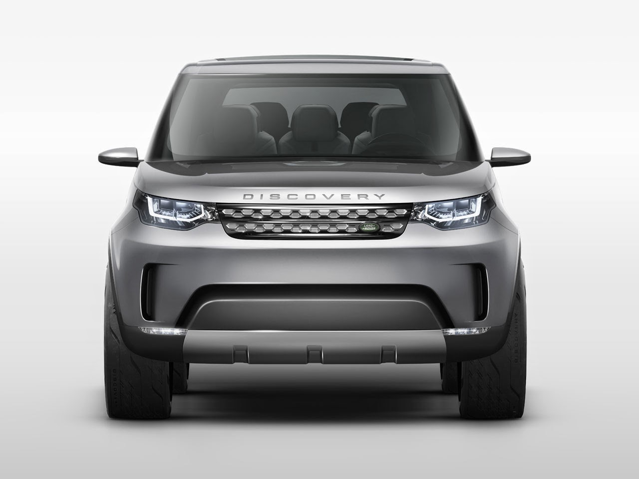 Land Rover Discovery Vision Concept front
