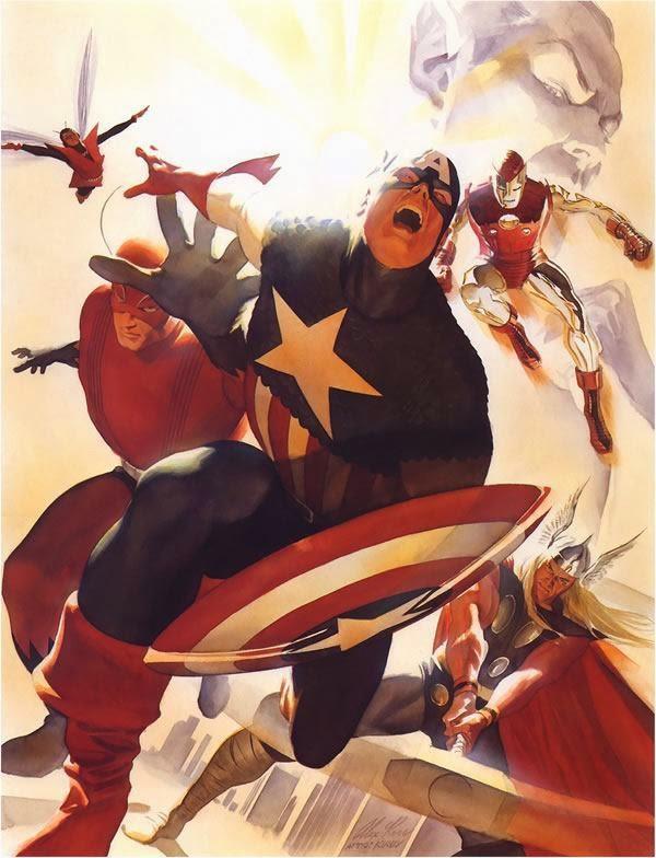 'Avengers' por Alex Ross