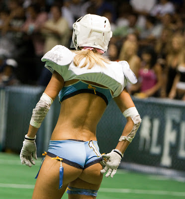 Best uncensored Lingerie Football League wardrobe malfunction photos