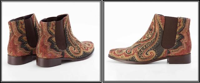 Boots Claudie Pierlot tapisserie saloon Alexiabis 2012