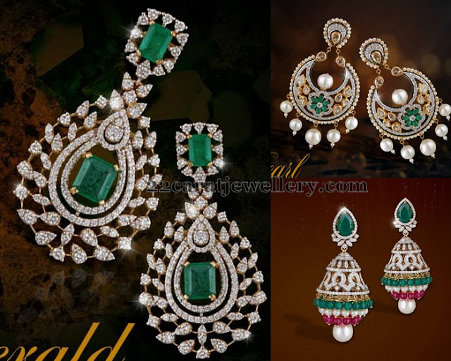 Exclusive Diamond Earrings by Shobha Asar