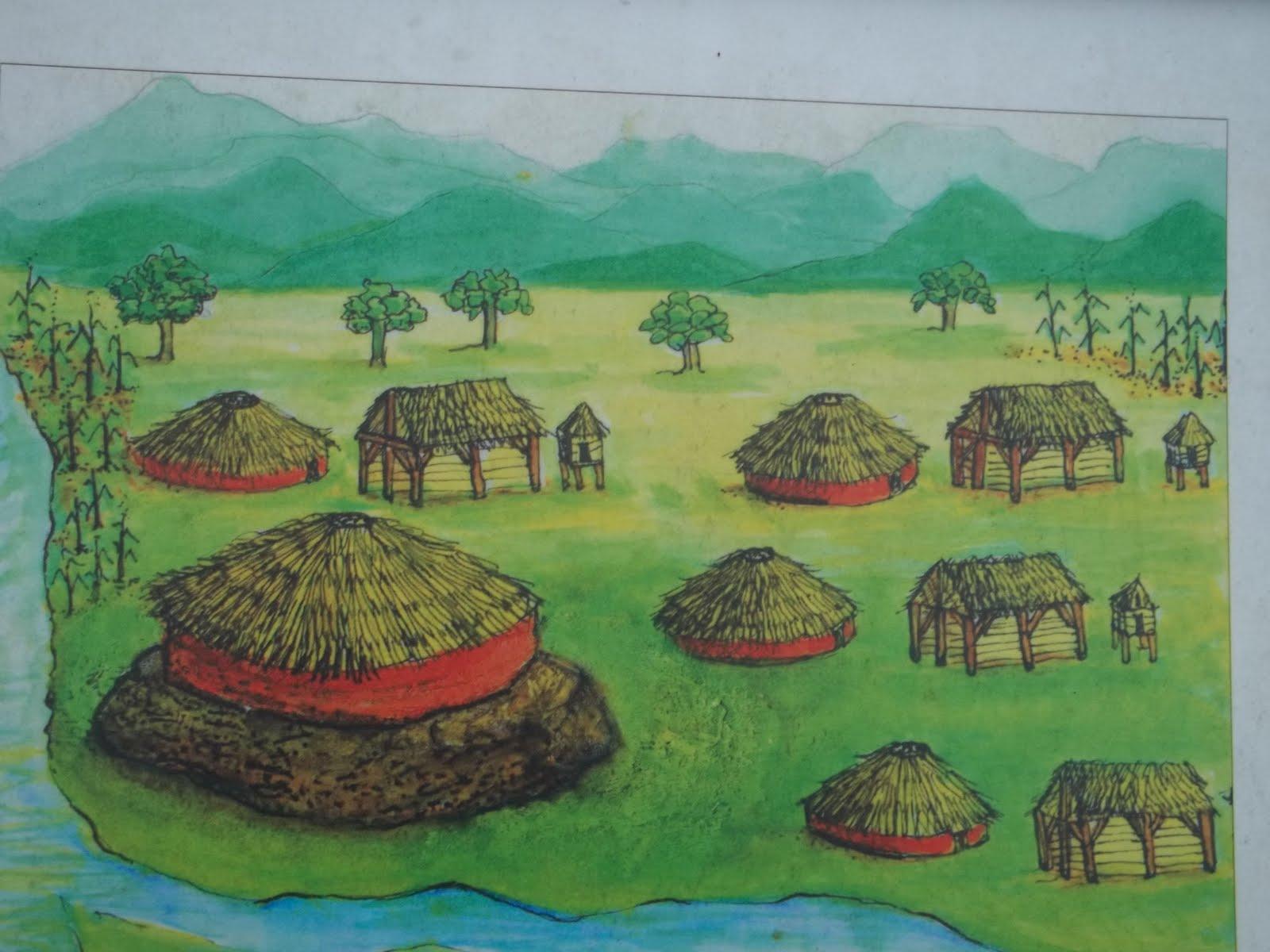 Historical Hayesville Spikebuck Mound