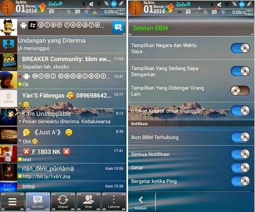 Download Mod BBM Apk Android Terbaru 2015
